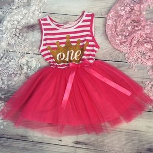 Other - Boutique Baby Girls 1st Birthday Dress